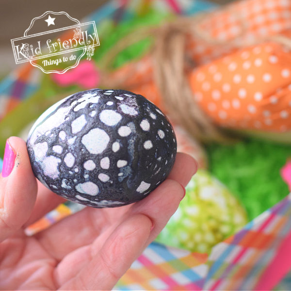 Make Cool Spotted Easter Eggs