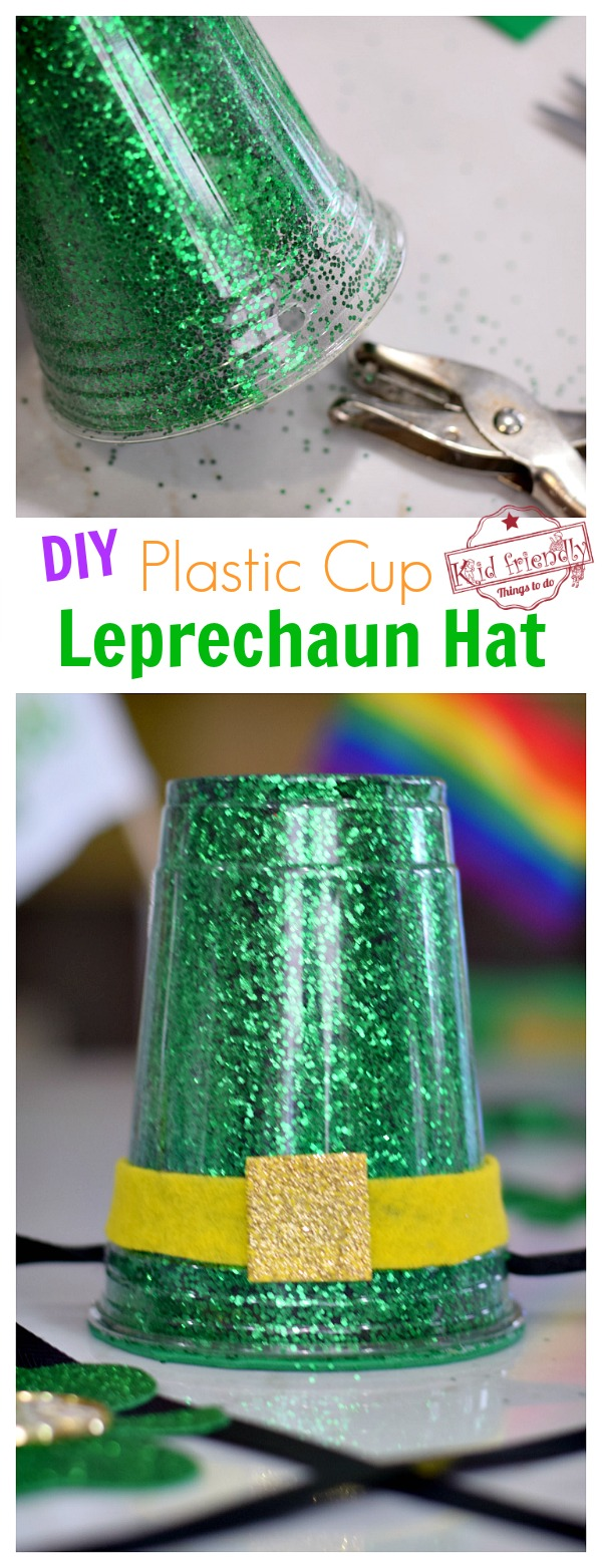 A St. Patrick's Day Activity - Making a leprechaun hat with kids
