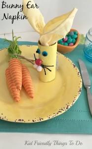 Easter Bunny Napkin Holder Craft