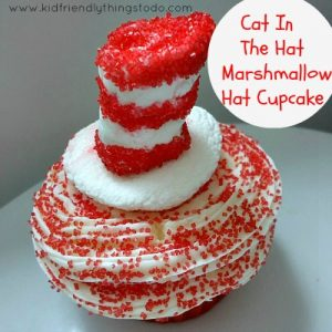 A Cat In The Hat, Dr. Seuss Cupcake Idea – A Kid Friendly Things To Do .Com Fun Food