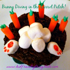Bunny Diving Into The Carrot Patch – Kid Friendly Things To Do .com