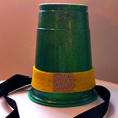Making A Leprechaun Hat For St. Patrick's Day – A Fun Craft