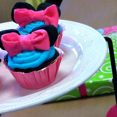 Minnie Mouse Cupcakes – A Fun Food