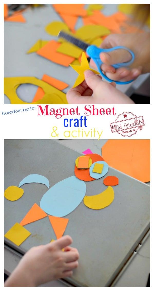 magnet sheet activity for kids
