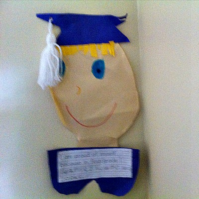 School Graduation and End Of The School Year Craft