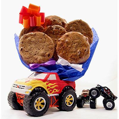 Monster Truck Cookie