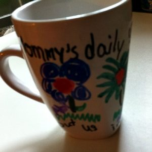 Using A Sharpie To Decorate Ceramic Mugs Or Plates – Kid Friendly Things To Do .com