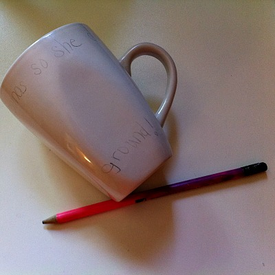 Setting Permanent Marker On Ceramics & Using A Sharpie To Decorate Ceramic Mugs Or Plates - Kid Friendly ...