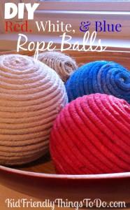 DIY Decorative Rope Balls
