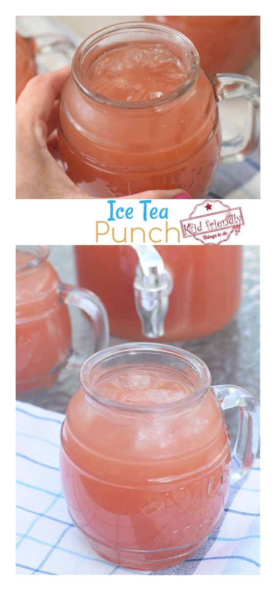 ice tea punch recipe