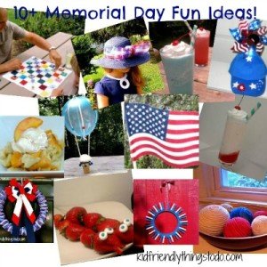 Memorial Day Crafts, Recipes, and More!