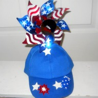 A Silly Patriotic Hat Craft