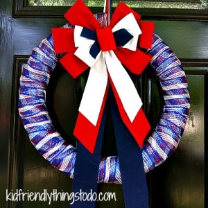 Make a Wreath From a Pool Noodle – Kid Friendly Things To Do