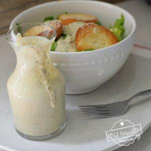 easy caesar salad dressing recipe