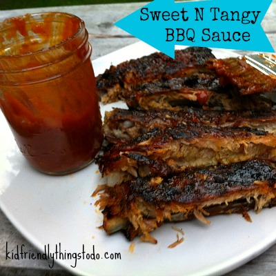 Sweet N Tangy BBQ Sauce – Kid Friendly Things To Do