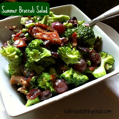 Summer Broccoli Salad