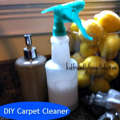 DIY Carpet Cleaner Recipe – Kid Friendly Things To Do