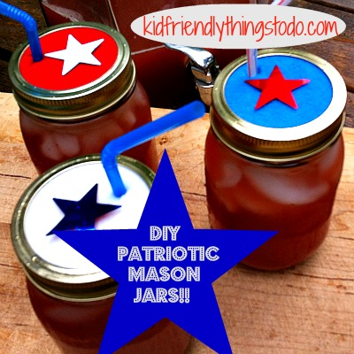 DIY Mason Jar Cups