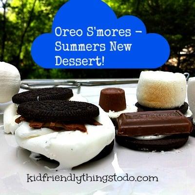 Oreo S'mores - Summer's New Dessert