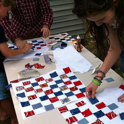 Patriotic Amazing Race Family Tradition Idea