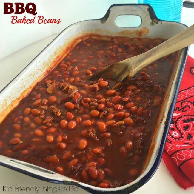 Barbecue Baked Bean Side Dish