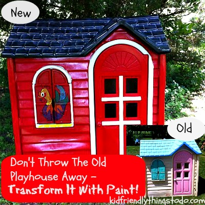 DIY Playhouse Renovation | Kid Friendly Things To Do