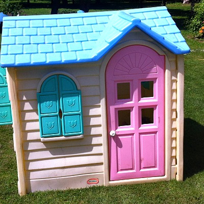 DIY Playhouse Renovation! - Paint That Old Plastic Playhouse! - Kid on tape designs, pergola designs, a frame playset designs, bedroom designs, dollhouse designs, home designs, patio designs, kitchen designs, beneath stairs bar designs, barn designs, sarah designs, pool designs, garden designs, swing designs, carport designs, rocking horse designs, victorian front porch designs, garage designs, deck designs,