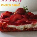 Oh yum! I grew up with this Strawberry Pretzel Salad. It's such a great dessert for the Easter Holiday