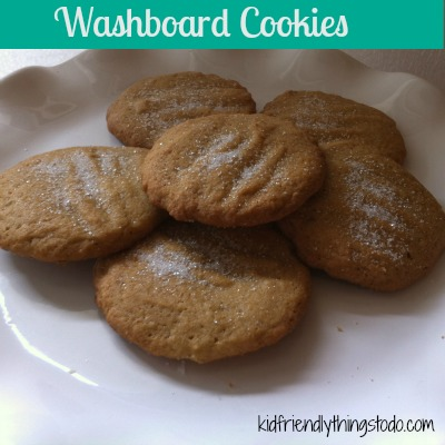 Washboard Cookies