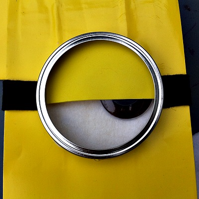 Minion Gift Bag Craft
