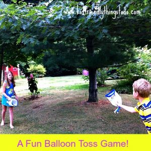 Recycle Milk Jugs And Other Large Containers For A Fun Balloon Toss Game – Kid Friendly Things To Do .com