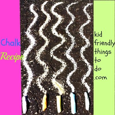 Homemade Sidewalk Chalk Recipe – Kid Friendly Things To Do .com