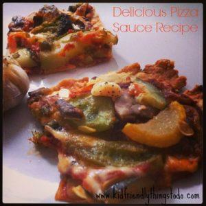Delicious Pizza Sauce Recipe