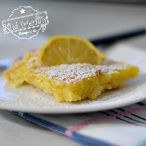 Coconut Lemon Bars {So Easy and So Good} | Kid Friendly Things To Do