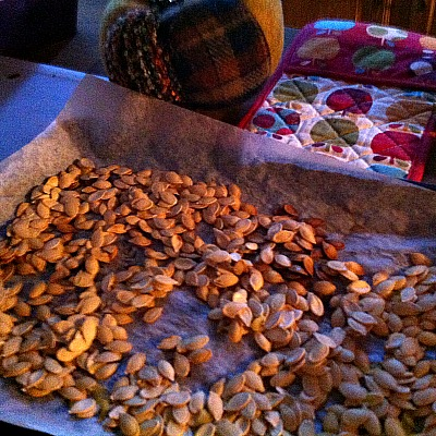 Jell-O Candied Pumpkin Seeds – Kid Friendly Things To Do