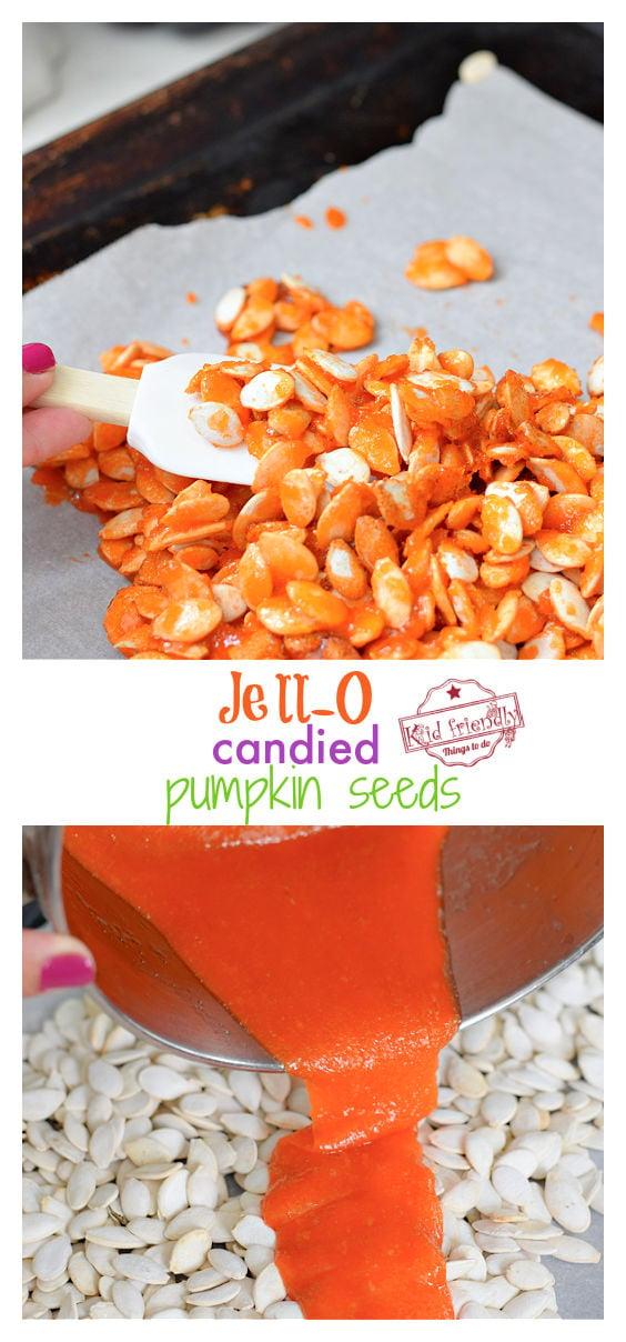 candied pumpkin seeds recipe