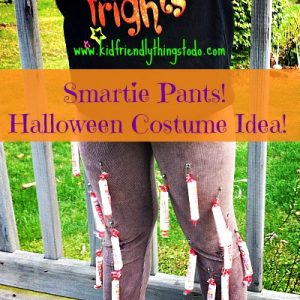 Smarty Pants DIY Halloween Costume Idea for Kids