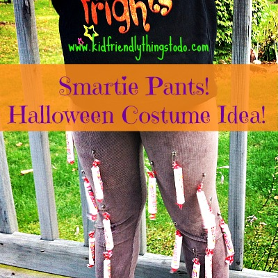 Smarties Pants Costume Idea For Halloween | Kid Friendly Things To Do