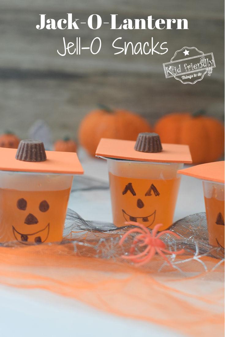 Halloween Jell-O Snacks