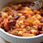 pasta fagioli recipe with cannelini beans