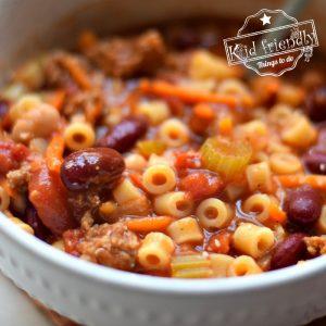 pasta fagioli recipe with cannelini beans