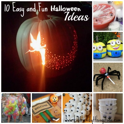 10 Halloween Crafts and Party Ideas – Kid Friendly Things To Do