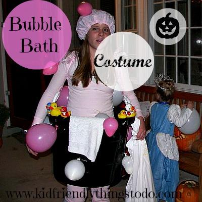 Bubble Bath Halloween Costume Idea