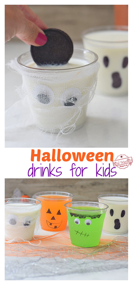 fun Halloween drink ideas