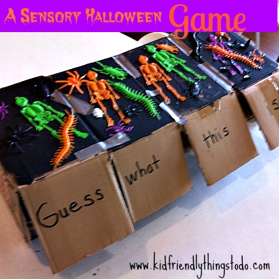 a halloween sensory game kid friendly things to do com - Halloween Fear Factor Games