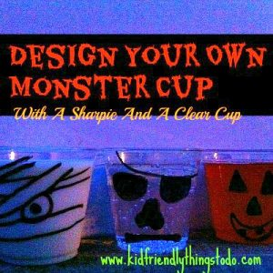 Design A Monster Drink Cup – For A Fun Halloween Drink – Kid Friendly Things To Do .com