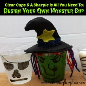 monster drink cup craft