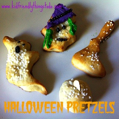 Halloween Shaped Pretzels – Kid Friendly Things To Do