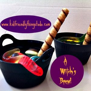 Make A Yummy, and Adorable Witch's Brew For The Kids! – Kid Friendly Things To Do .com