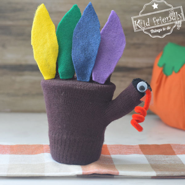 A Turkey Craft for Kids {and Treat Holder} – Kid Friendly Things To Do